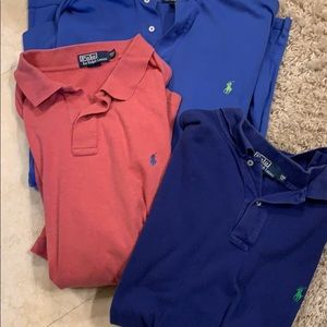 Ralph Lauren big and tall polos
